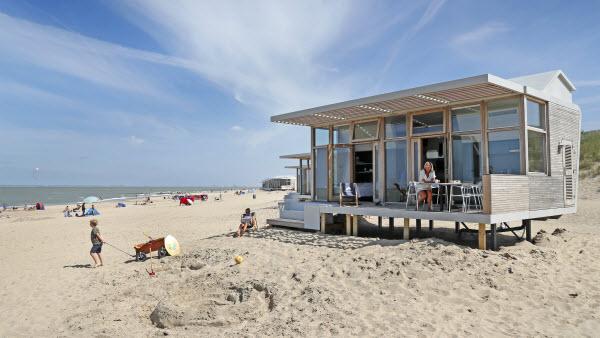Strandhuisje Cadzand Molecaten