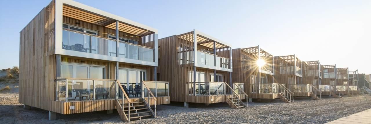 Roompot strandhuisjes Hoek van Holland