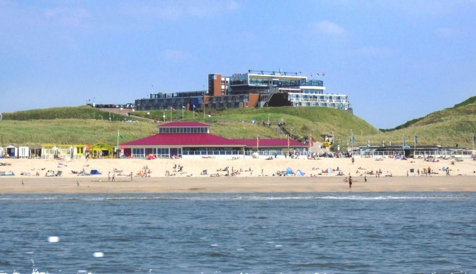 Strandhuisje Strandhotel Het Hoge Duin
