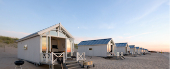 strandhuisjes kijkduin den haag huren via Roompot