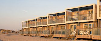 strandhuisje largo hoek van holland huren bij Roompot