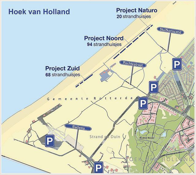 Strandhuisje Hoek van holland Westland